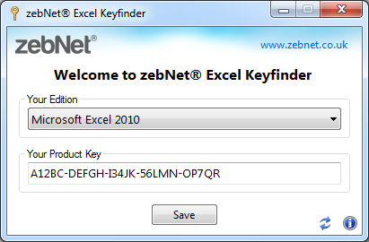 where can i find excel product key